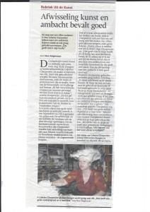 rubriek uit de kunst brabands dagblad 15 juni 2015